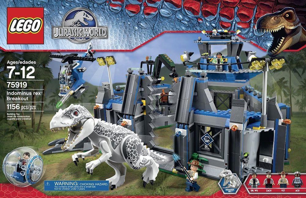 Indominus Brand Building 75919 World Lego Rex Breakout Jurassic Set cR4jL35Aq
