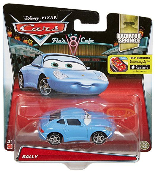 Amazon Com Disney Pixar Cars Diecast Sally Vehicle Toys Games