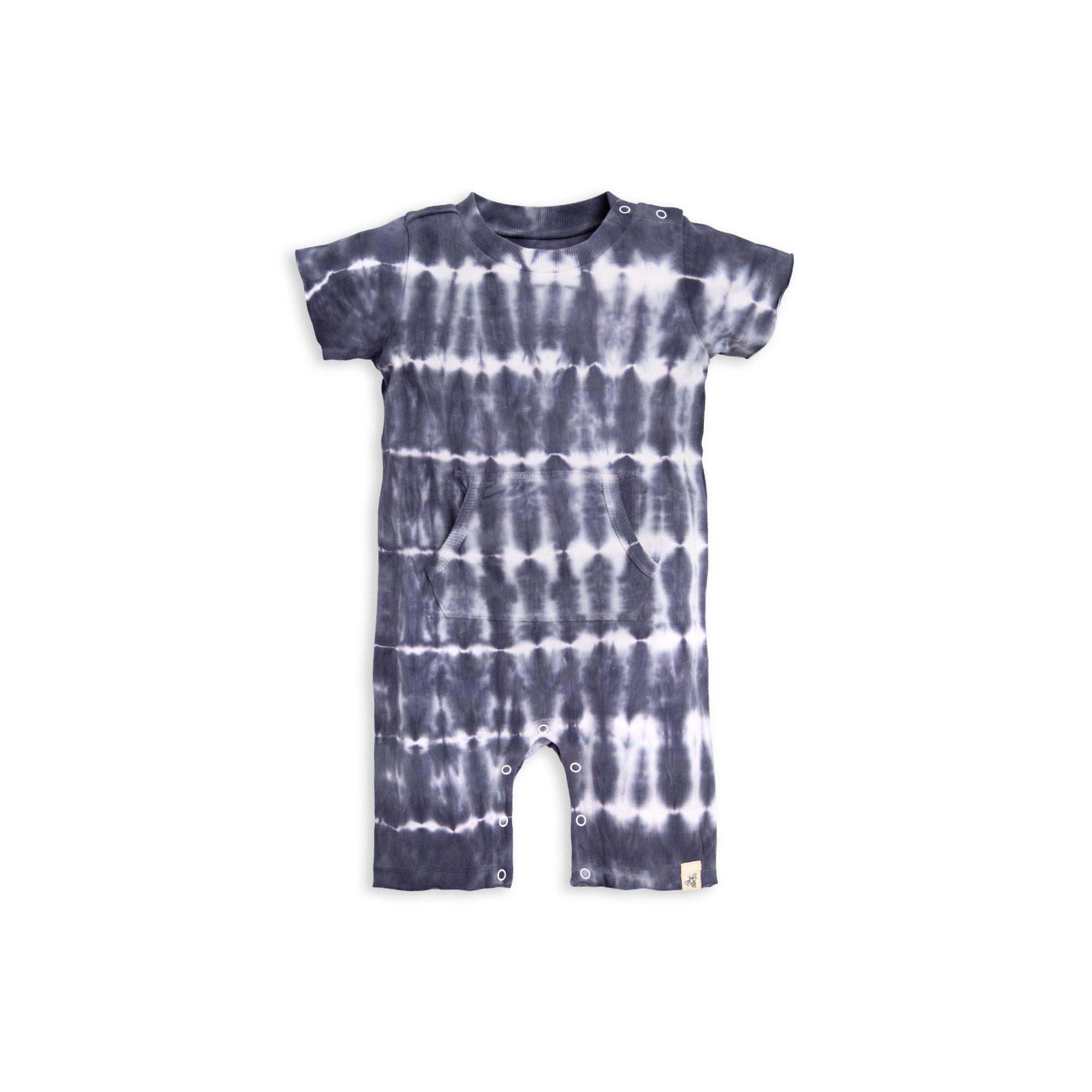 Tie Dye Baby Romper Hand Dyed Tie Dye Hippie Baby Clothing Tie Dye Baby Clothes Boho Baby Clothes