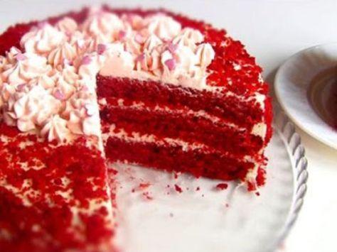 Торт «Красный бархат» — vkusno.co