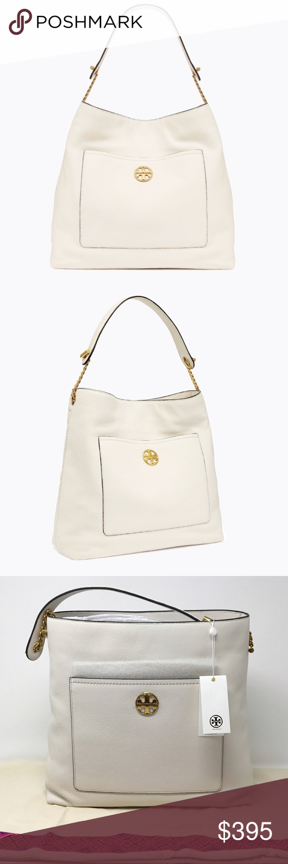 ced34b3bf192 NEW TORY BURCH CHELSEA CHAIN HOBO SAME DAY SHIPPING USPS 1-3 DAY PRIORITY  MAIL