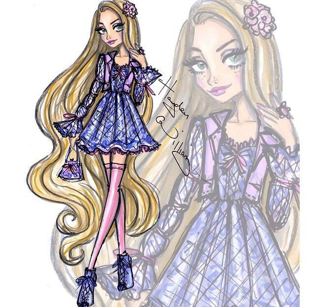 Hayden Williams disney princess fashionista rapunzel