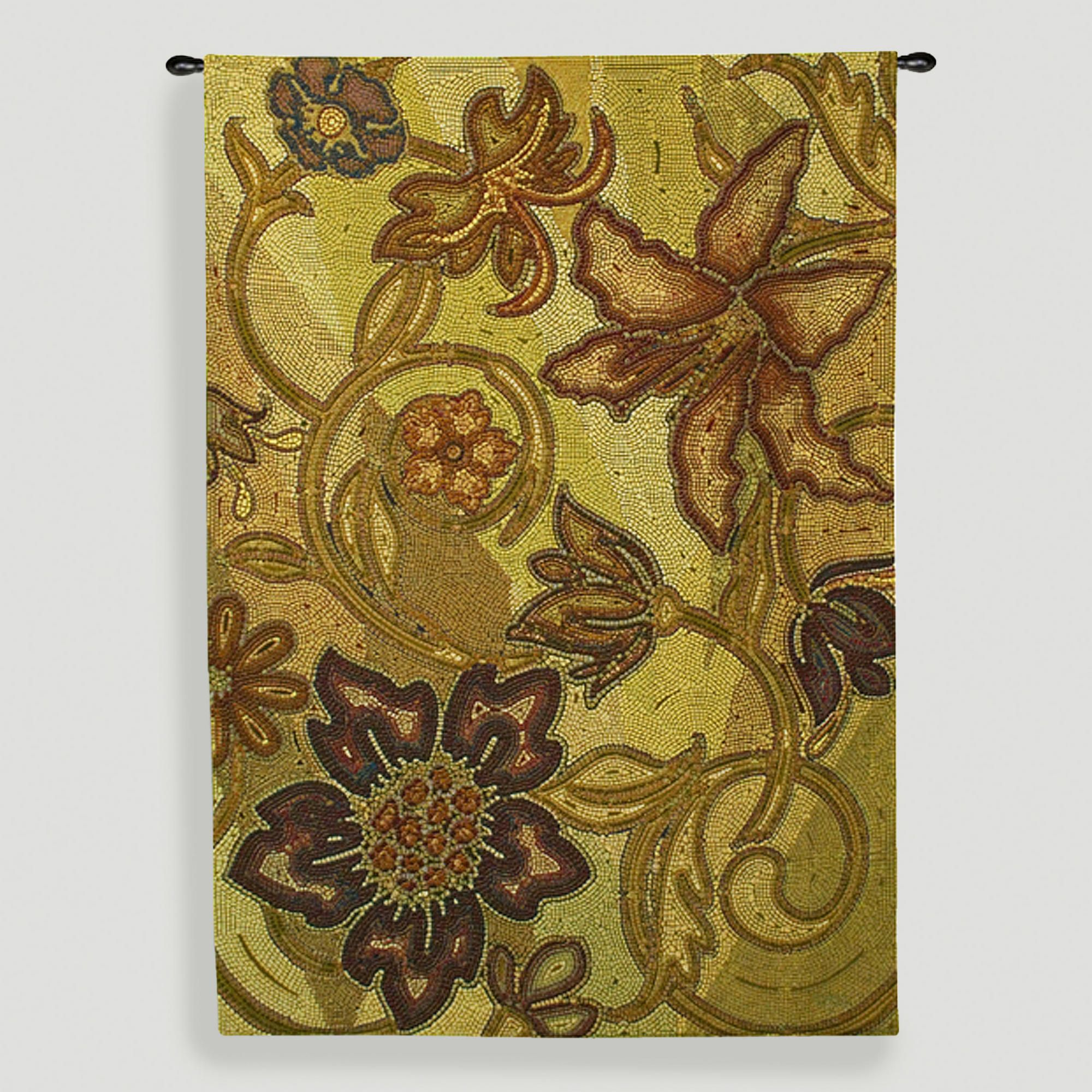 Autumn Mosaic Tapestry Wall Hanging | Tapestry wall hanging and ...