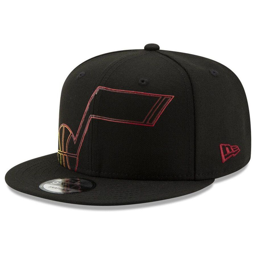 online store e0e33 5d8c0 Utah Jazz New Era Light It Up 9FIFTY Snapback Hat – Black, Your Price