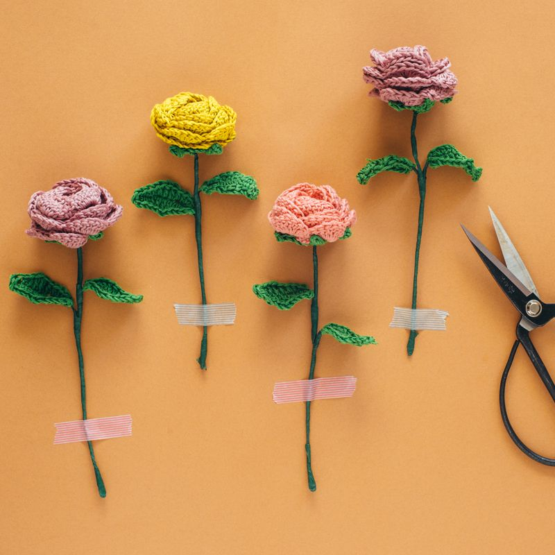 El Club del Patrón: Ramo de flores | ดอกไม้โครเชต์ | Pinterest ...