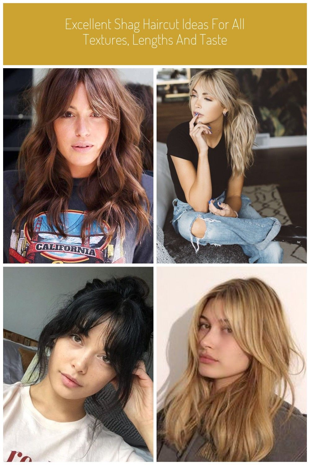 EXCELLENT SHAG HAIRCUT IDEAS FOR ALL TEXTURES LENGTHS AND TASTE bangs EXCELLENT SHAG HAIRCUT IDEAS FOR ALL TEXTURES LENGTHS AND TASTE