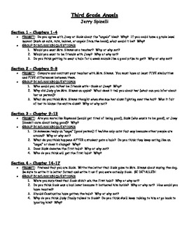 third grade angels spinelli novel study pinterest novels rh pinterest com Third Grade Poems Third Grade Poems