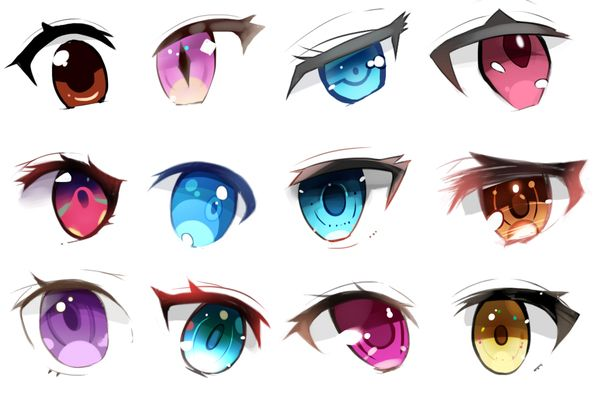 Eye Reference Anime Eye Drawing Anime Eyes Manga Eyes