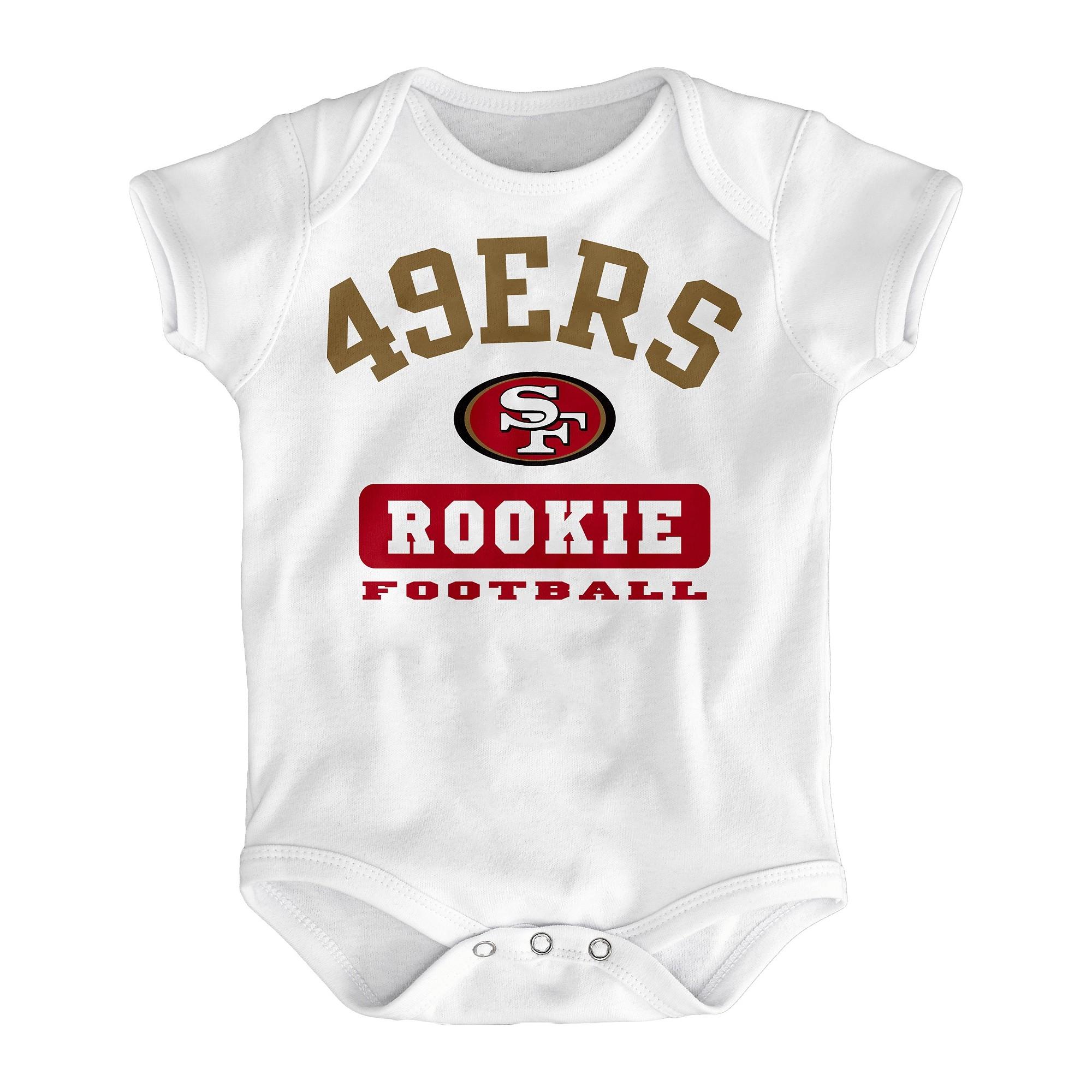 San Francisco 49ers New Born Body Suit 3M Size 0 3 M Blue
