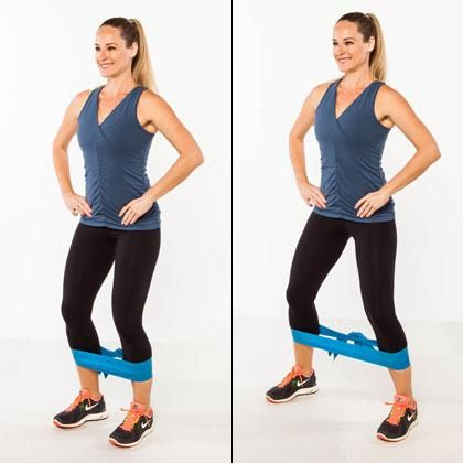 10 Knee Friendly Toning Moves Lower Body Body Toners Knee Exercises