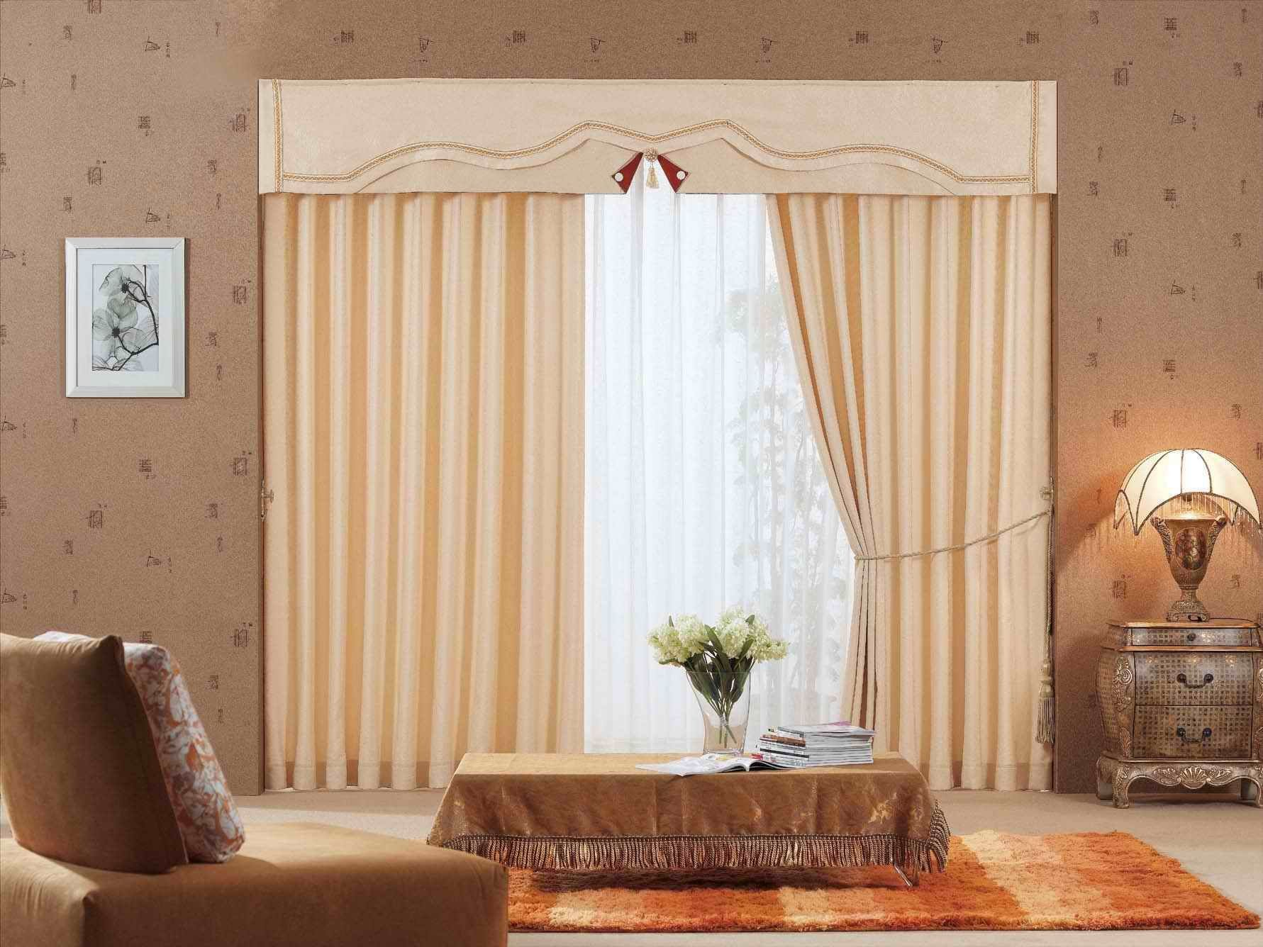 Bust Of Wide Window Treatments For Creating A Tempting Visage In Adorable Curtain Design Ideas For Living Room Design Decoration