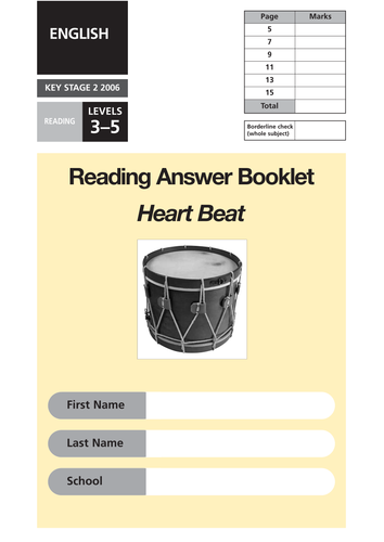 Pin On All Ks2 Reading Papers Answer Booklets And Mark Schemes