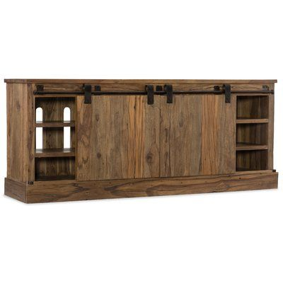 Hooker Furniture L'Usine TV Stand for TVs up to 88"