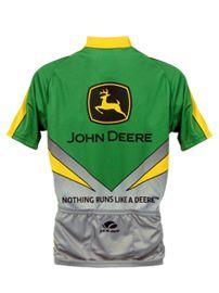a9456da04 Additional Views  Men s John Deere 3 4 Hidden Zip Pullover Bike Jersey