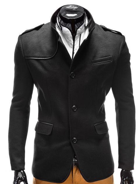 Plaszcz Meski Augustin Clothes Ombre Clothes Leather Jacket