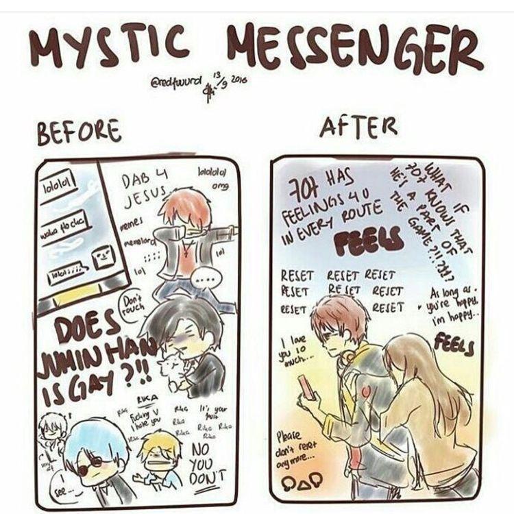 KMS || Mystic Messenger ★