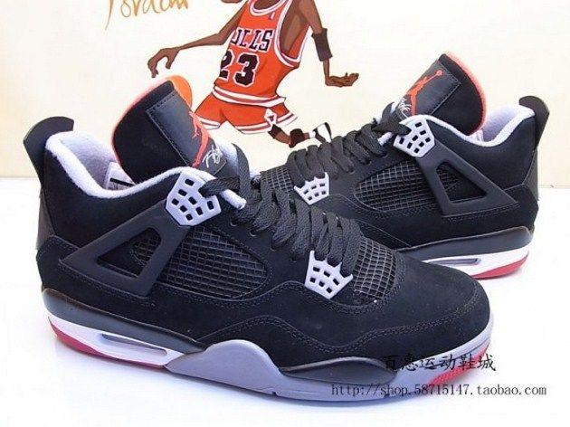 Air Jordan Iv Bred Zdjecia Air Jordans Popular Sneakers Air Jordans Retro