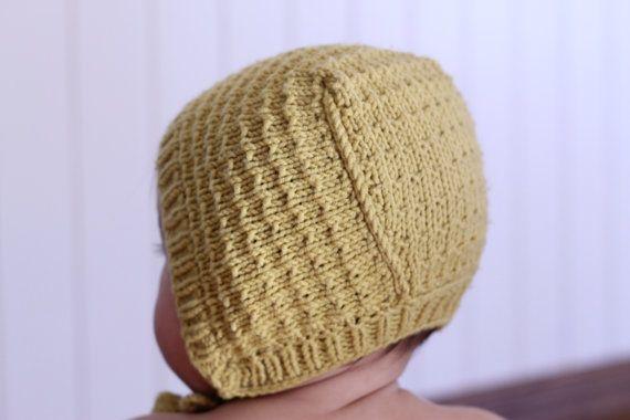 Baby Bonnet Knitting Pattern Astrid Pdf Download Baby Hat