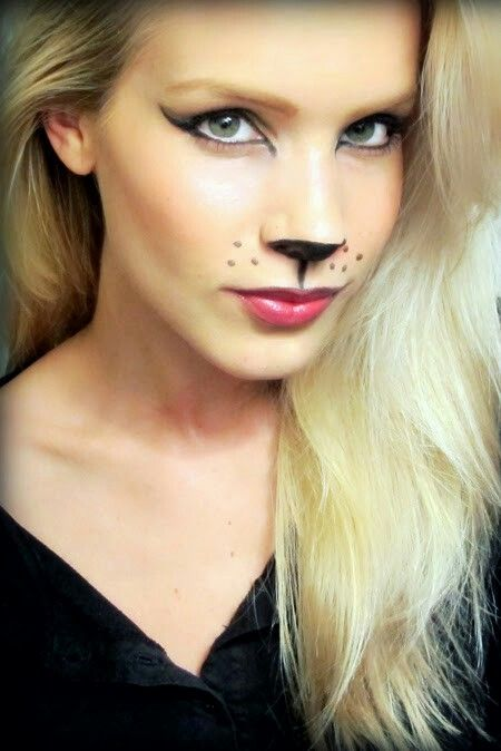 Pin by Rianna Garcia on Cosplay Pinterest Foxes - cat halloween makeup ideas