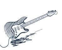 Resultado De Imagen Para Tocando Guitarra Electrica Dibujo Lapiz