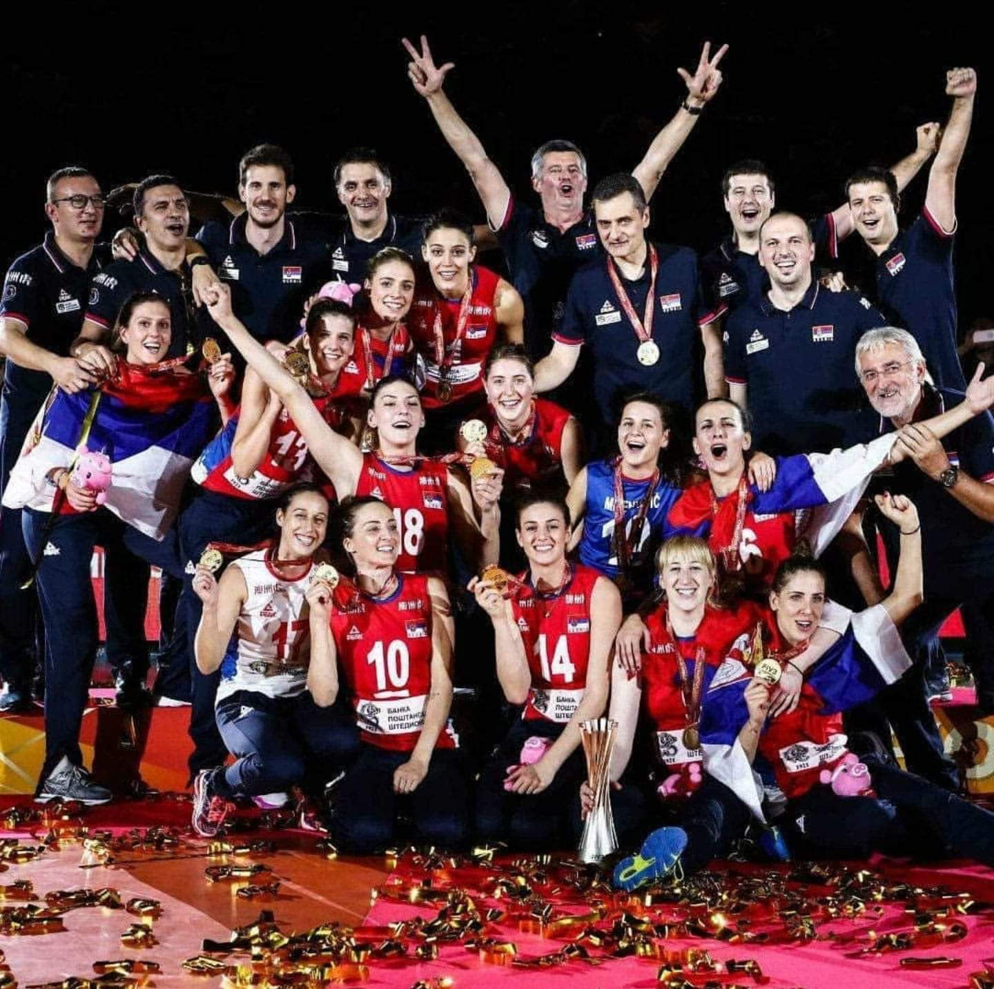 Pin By Katarina On Serbia Women Volleyball Volleyball History Volleyball