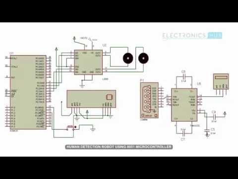 Human detection robot circuit using 8051 microcontroller human detection robot circuit using 8051 microcontroller ccuart Gallery