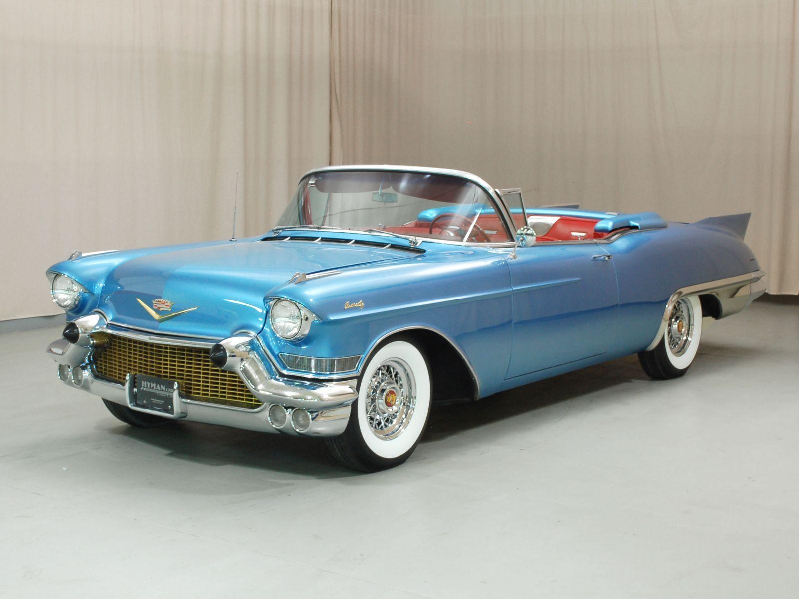 1957 Cadillac Eldorado - Hyman Ltd. Classic Cars | Cadillac ...
