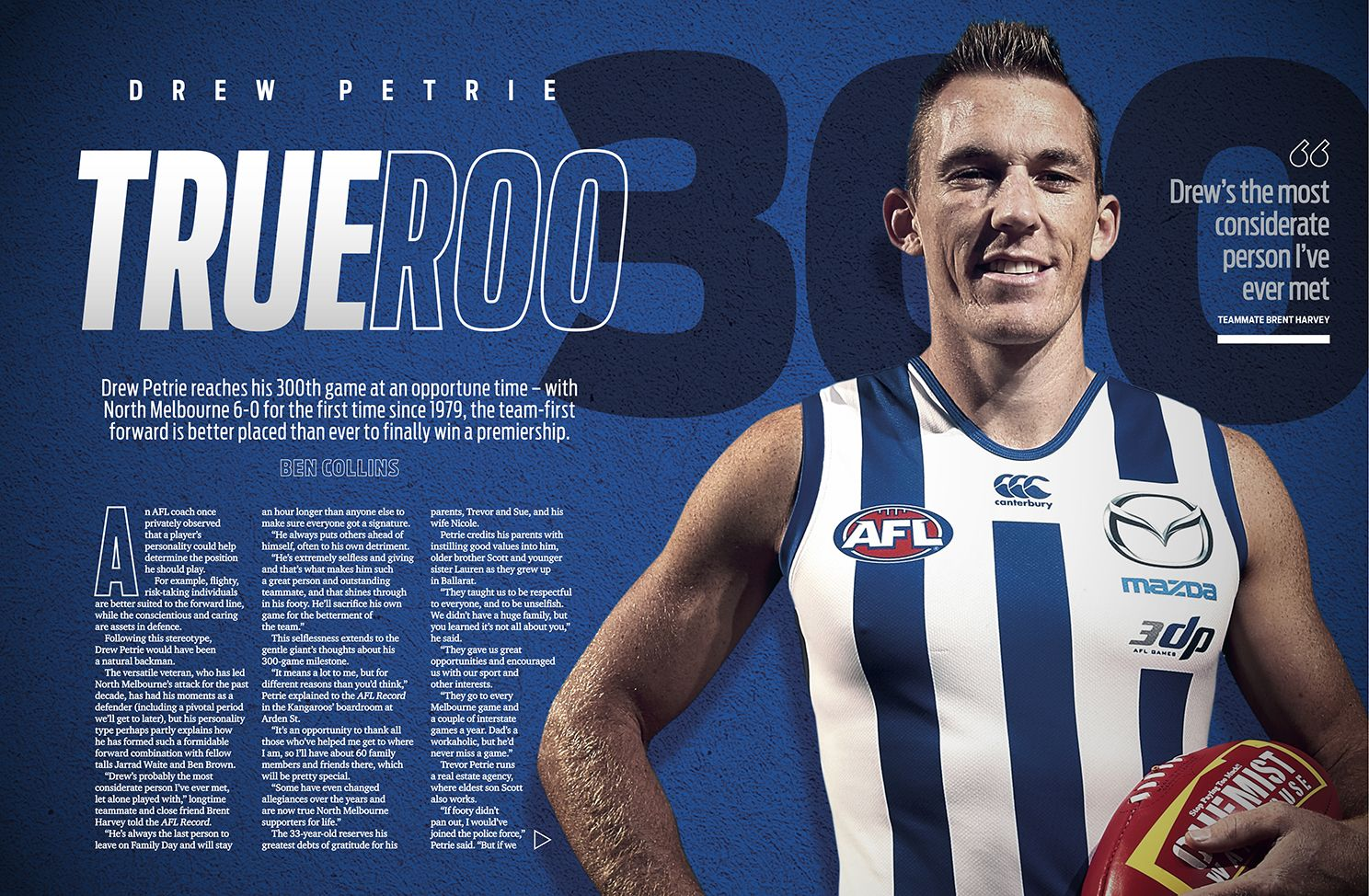 AFL Record | Round 8 | Drew Petrie Feature