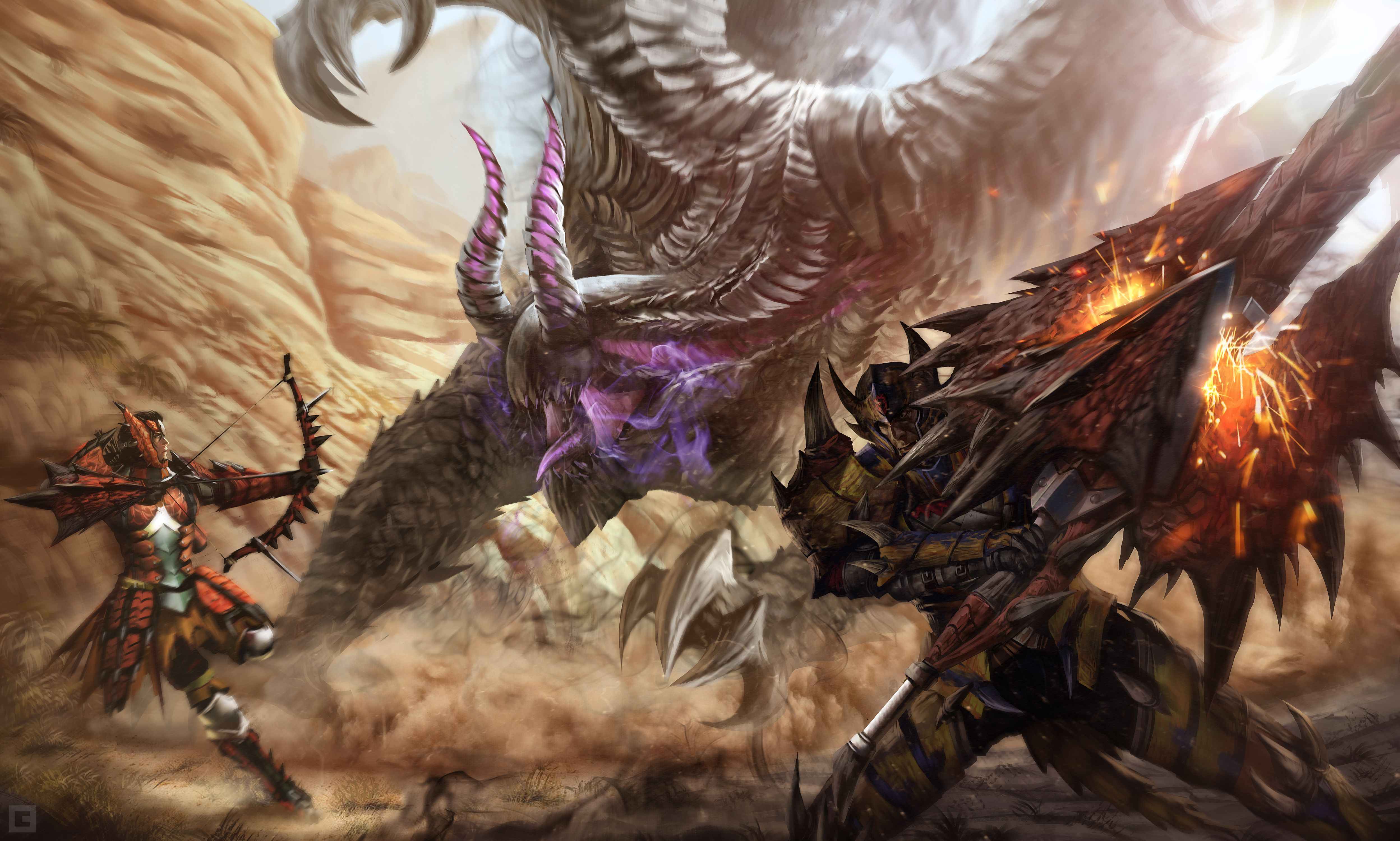 Video Game Monster Hunter 4 Ultimate Wallpaper   Monster hunter     Video Game Monster Hunter 4 Ultimate Wallpaper