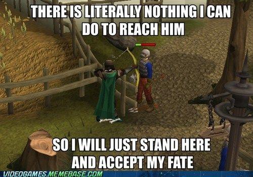Runescape Logic Video Game Logic Video Game Memes Funny Video Game Memes