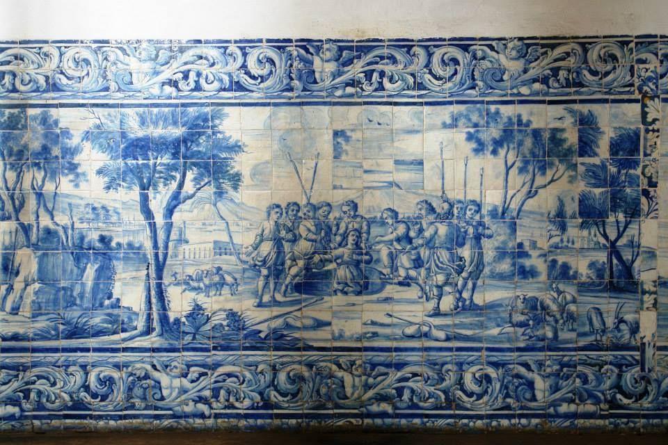 João Pessoa   Convento de / Convent of Santo António #Azulejo #AzulEBranco #BlueAndWhite #Barroco #Baroque #Brasil #Brazil