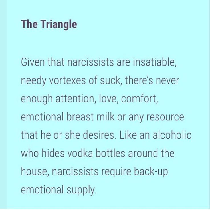 Back A How Narcissist Woman At To Get Consuming Some the