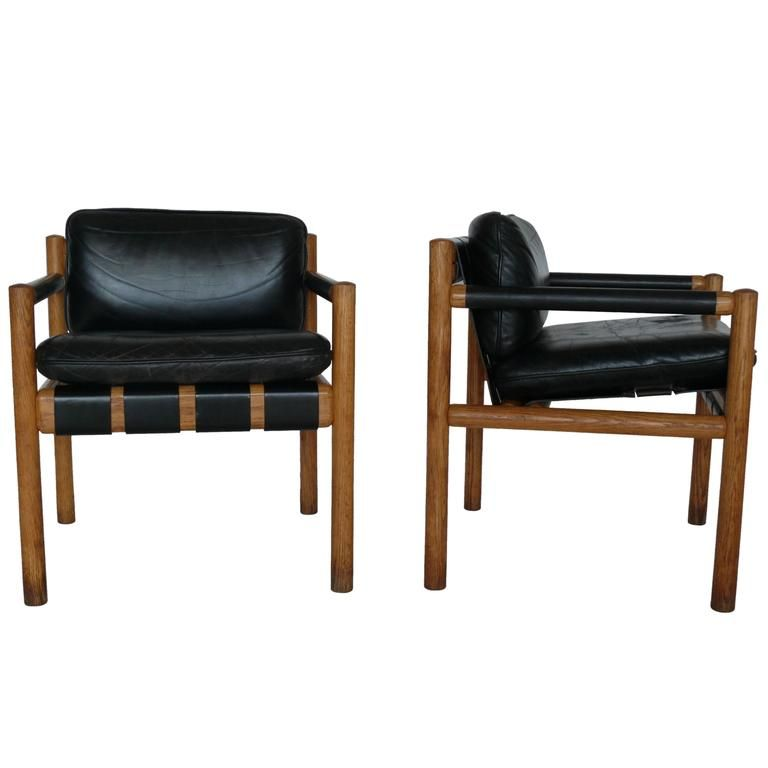 Pair of Chairs Attributed to Carlo Scarpa | 1stdibs.com
