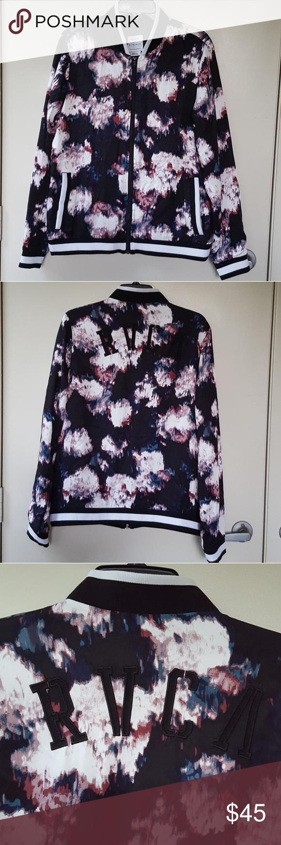 Rvca Bomber Jacket Clothes Design Rvca Jacket Fashion Design [ 1740 x 580 Pixel ]