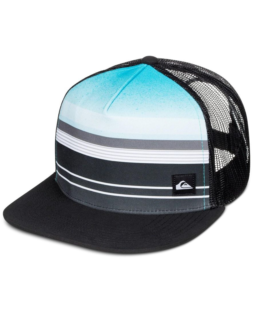 be578548121 Quiksilver Men s Everyday Stripe Trucker Hat