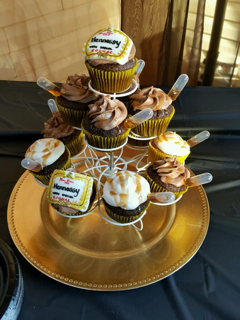 Hennessy Chocolate Cupcakes Hennessy Amp Hip Hop Party In