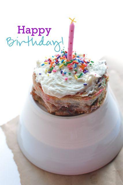 holy yum. birthday cake rolls