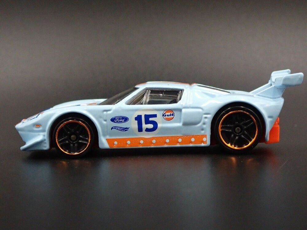 2005 2006 Ford Gt Lm Gulf Livery Rare 1 64 Scale Collectible