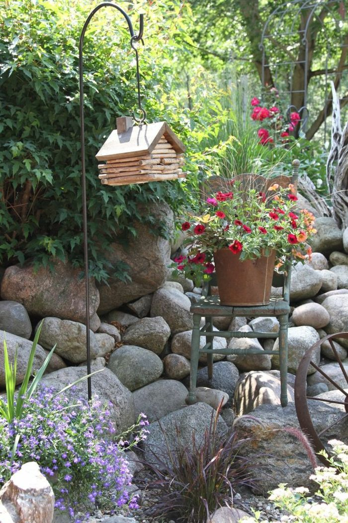 Decoracion de jardines rusticos con encanto natural. | Decoraciones ...