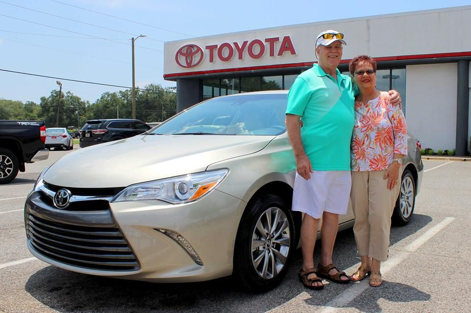 Congratulations To Longtime Toyota Owners And Toyota Of Fort Walton Beach Clients Paul And Sharon Raup Of Crest Fort Walton Beach Toyota Dealership Used Toyota