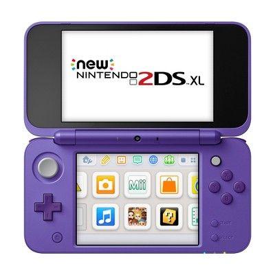 Nintendo 2ds Xl With Mario Kart 7 Purple Silver Nintendo 2ds Nintendo Mario Kart 7