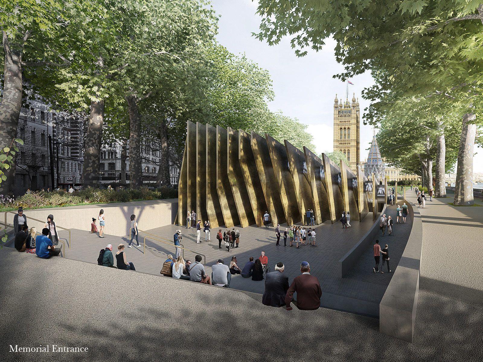 Adjaye Associates and Ron Arad Architects — UK Holocaust Memorial International Design Competition