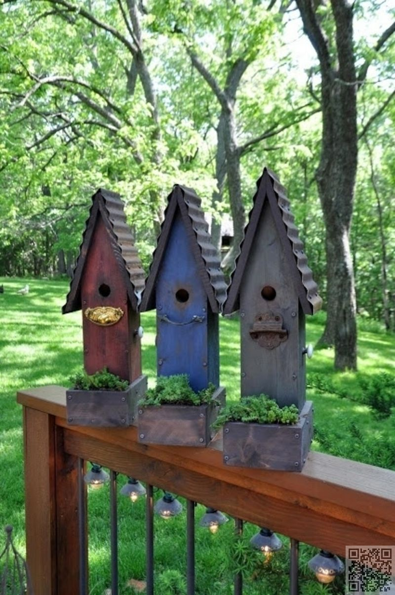 Birdhouse Planters Bird Houses Diy Bird Houses Bird House