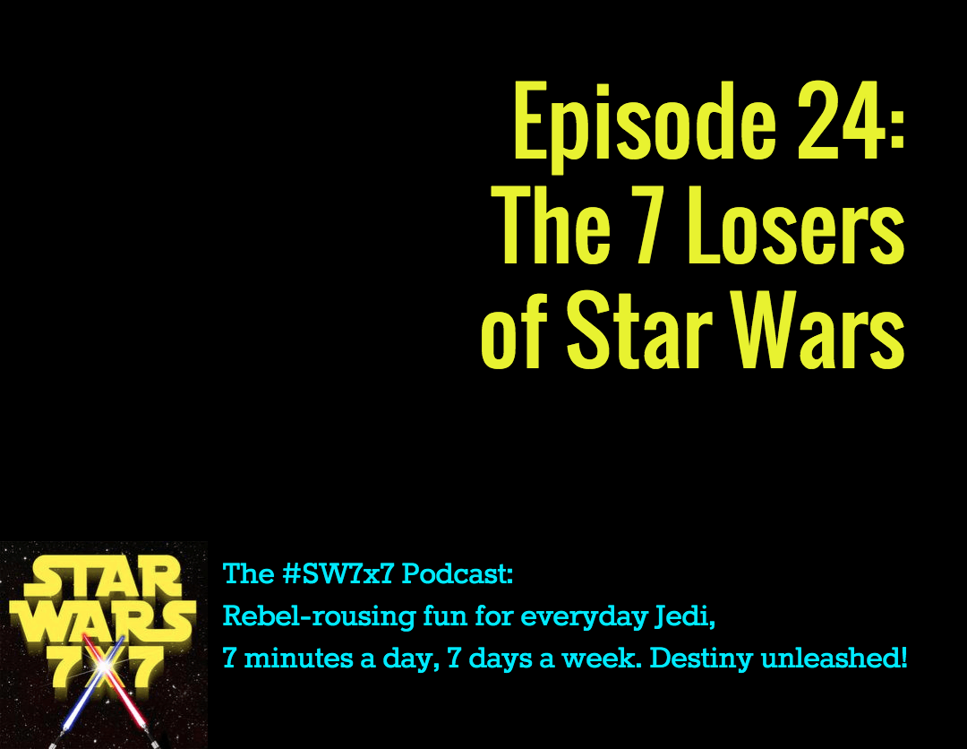 From July 28th] Who doesn't fare so well as a result of the events in Star  Wars? Some