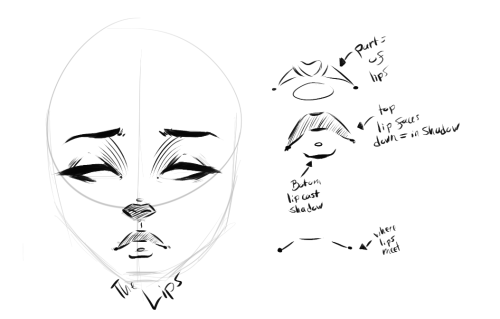 — Little Bitty Female Face Tutorial