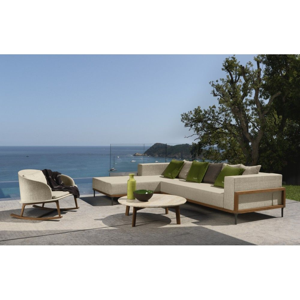 Cleo Rocking Chair Contemporary Outdoor Furniture Design At Cassoni Com With Images Contemporary Outdoor Furniture