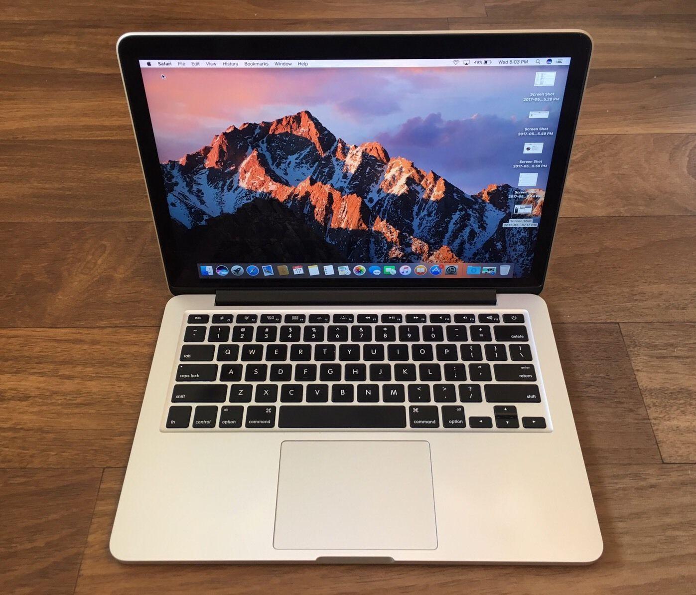 Macbook Pro Retina 13 Early 2015 3 1ghz I7 16gb Ram 1tb Ssd Applecare 9 1 2018 Apple Macbook Pro Apple Macbook Macbook Pro