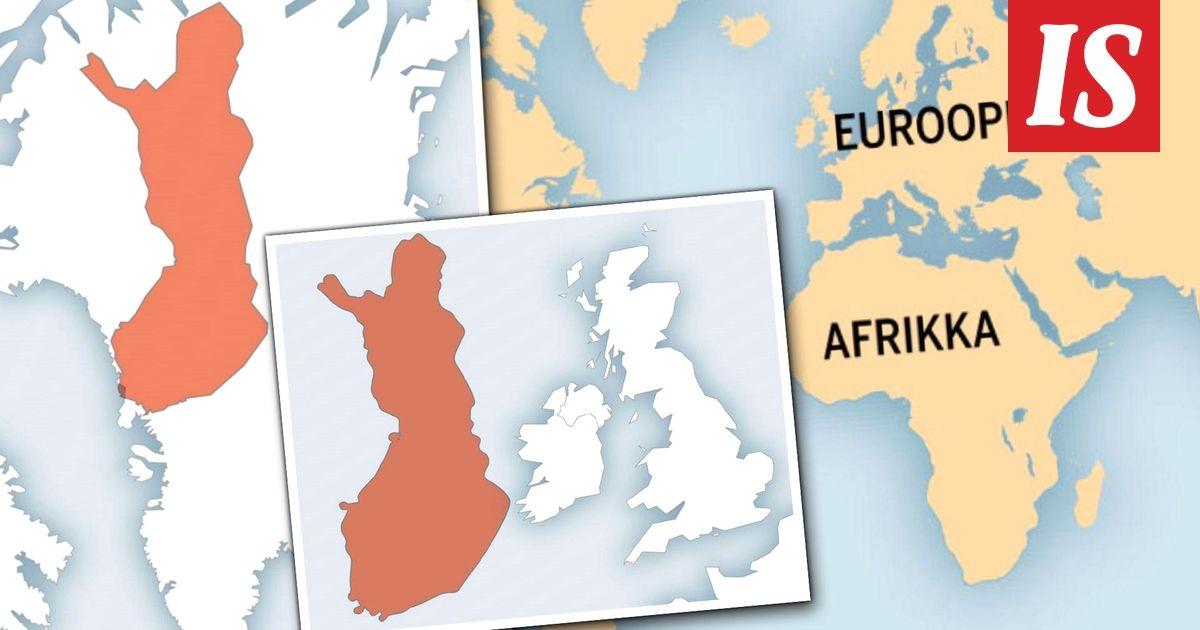 Uskoisitko, että Suomeen mahtuisi neljä Sri Lankaa ja Kanada peittäisi koko Euroopan? Karttasivusto rikkoo harhakäsityksemme siitä, kuinka maailma makaa.