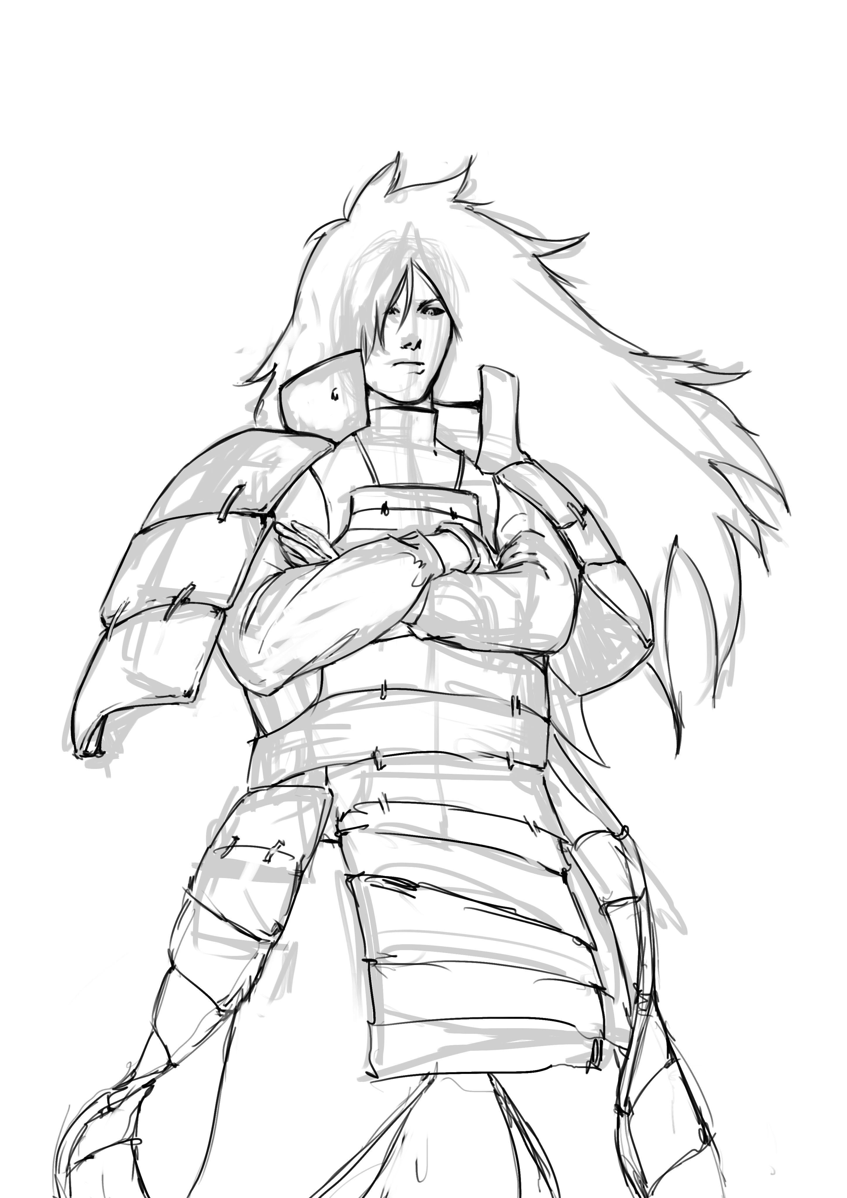 Dibujo Digital Madara Uchija Paso A Paso Arte Y Apuntes Y Monografias Dibujos De Naruto Shippuden Dibujo Digital Itachi Uchiha