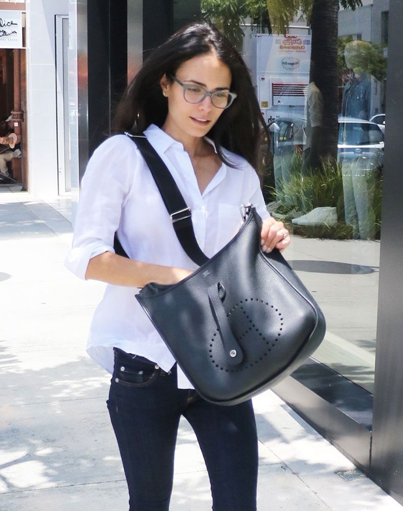 9856cba16e1 Just Can t Get Enough  Jordana Brewster and Her Herm s Evelyne Bags
